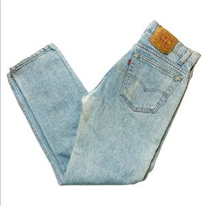 Vintage Levi's 505 Light Wash Denim Jeans